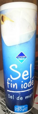 Sel fin iodé - sel de mer - Product
