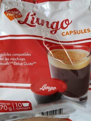 Capsules compatibles dolce gusto lungo - Prodotto - fr