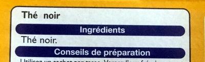 Thé Royal Breakfast - Ingredients - fr