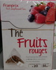 Thé fruits rouges - Product