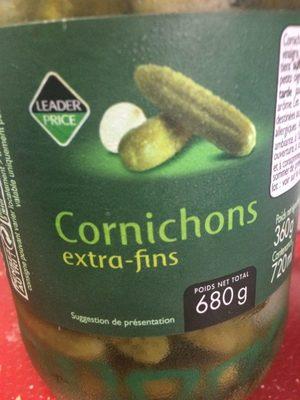 Cornichons extra-fins - Produit