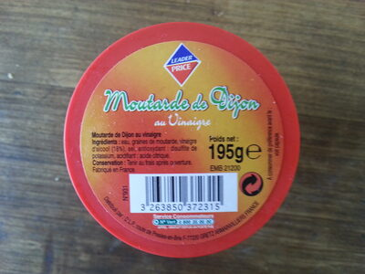 moutarde de dijon leader prixe - Product - fr