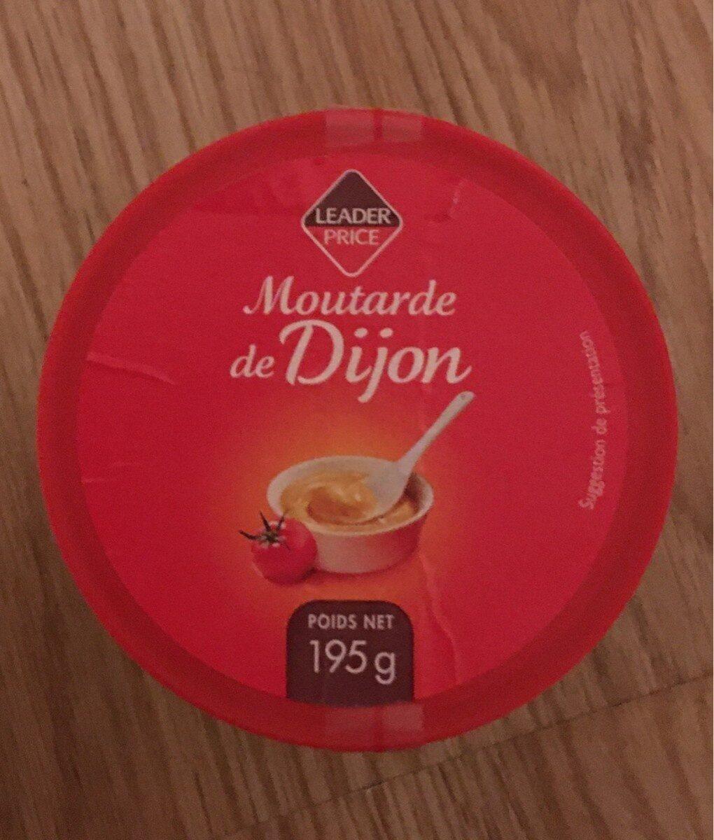 moutarde de dijon leader price - Product - fr