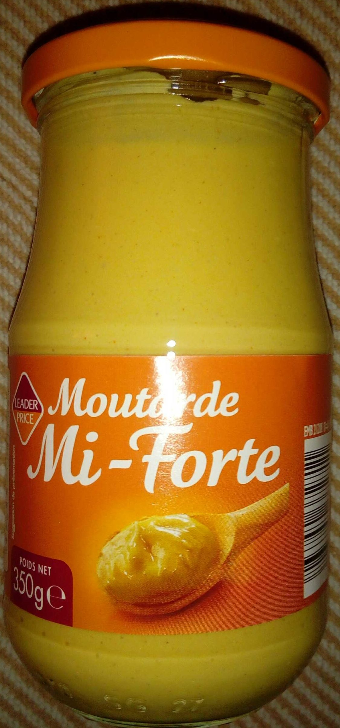 Moutarde Mi-Forte - Product - fr