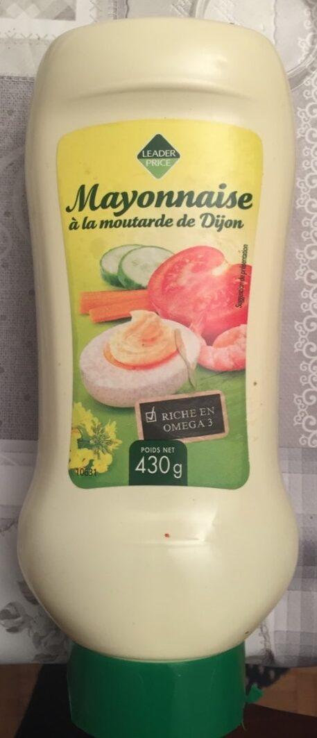 Mayonnaise a la moutarde de dijon - Product - fr