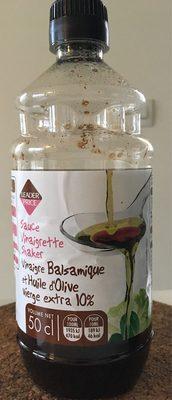 Sauce Vinaigrette à l'Huile d'Olive et Vinaigre Balsamique - Product - fr