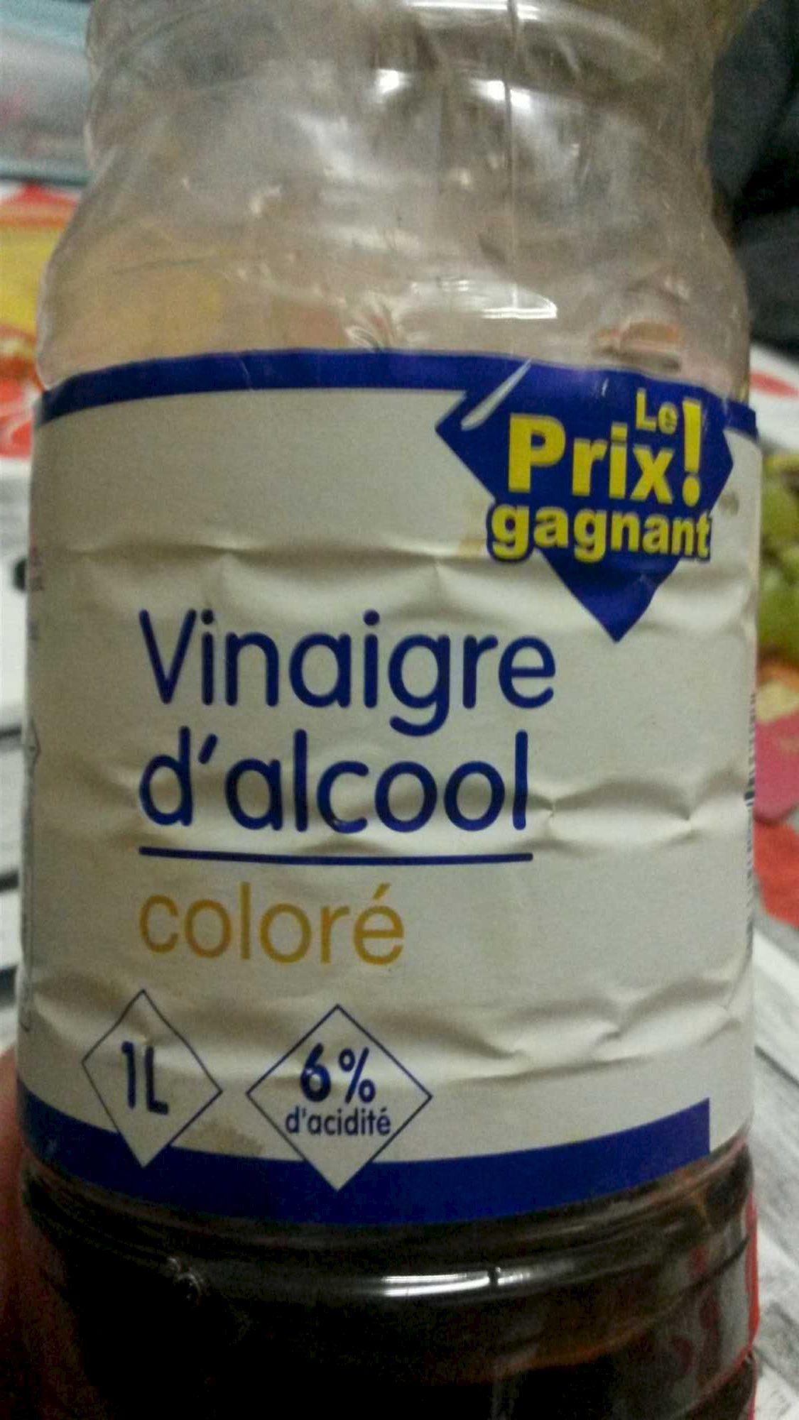 Vinaigre d 39 alcool color 1 l - Vinaigre d alcool cuisine ...