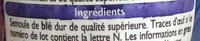 Coquillettes cuisson rapide 3 mn - Ingredients - fr