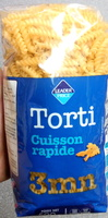 Torti cuisson rapide 3 mn - Product - fr