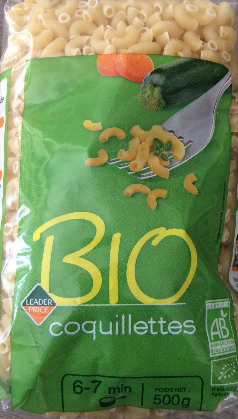 Bio coquillettes - Product - fr