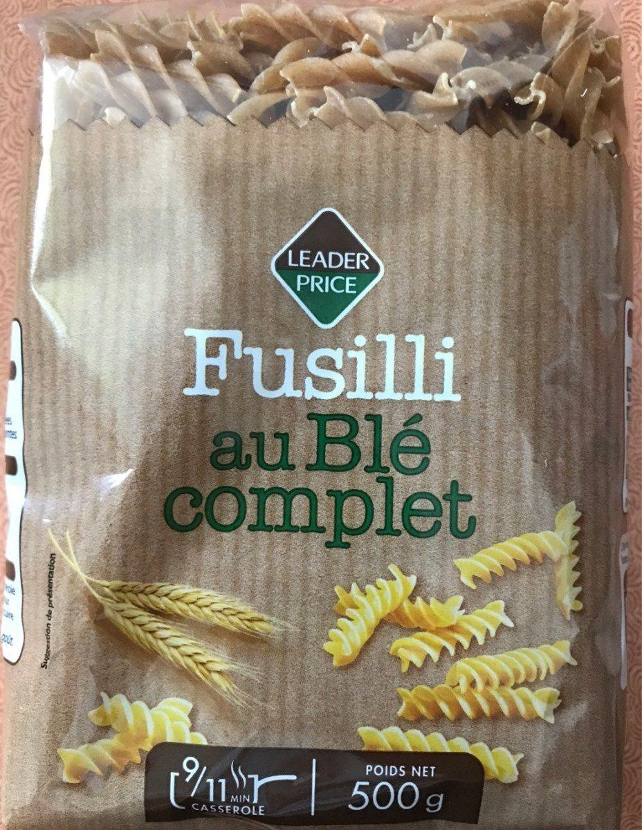 Fusilli au blé complet - Produit - fr
