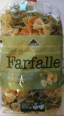 Farfalle à la Tomate et aux Épinards - Product - fr