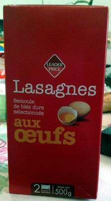 Lasagnes aux œufs - Produit