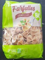 Farfalles complètes bio - Product - fr