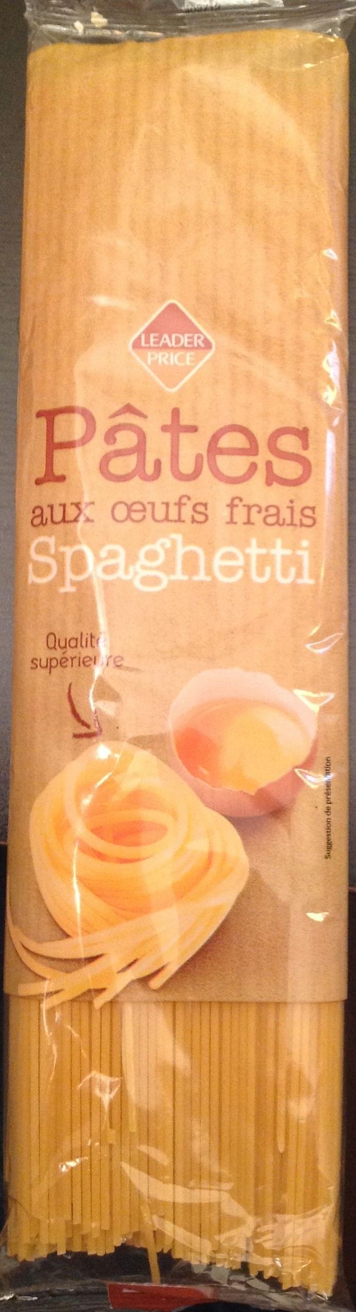 Pâtes aux œufs frais, Spaghetti (Pâtes d'Alsace) - Produit - fr