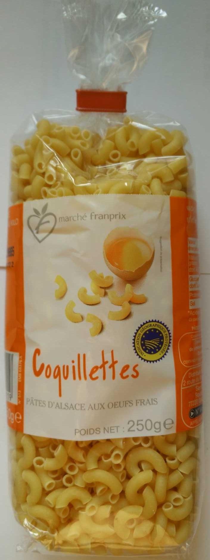 Coquillettes, Pâtes d'Alsace aux œufs frais - Produit - fr