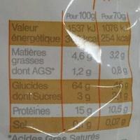 Lasagnettes - Informations nutritionnelles - fr