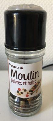 Moulin poivres et baies - Product - fr