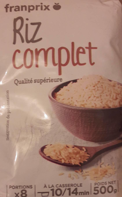 Riz complet qualité supérieure - Product