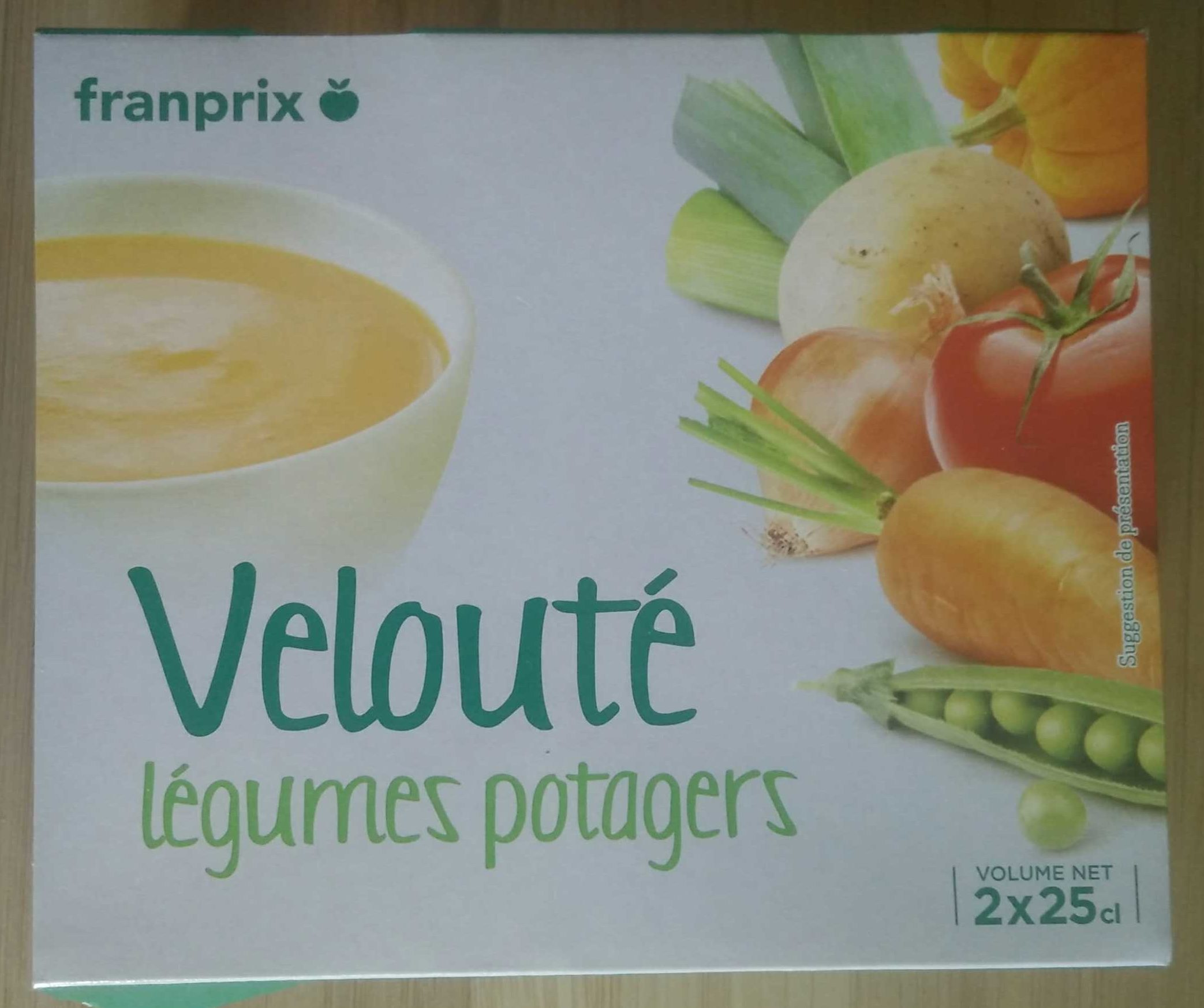 Velouté légumes potagers - Produit