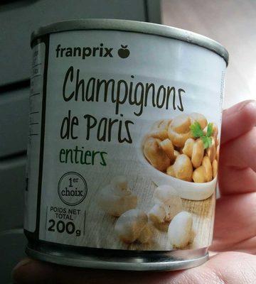 champignons de Paris entiers premier choix - Produit - fr