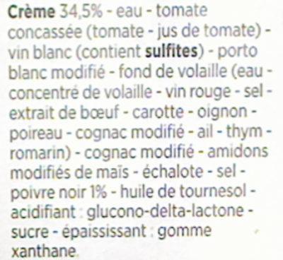 Sauce poivre - Ingrédients - fr