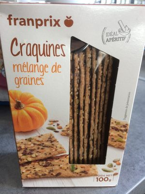 Craquines mélange de graines - Product - fr