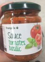 Sauce Tomate Basilic - Producto