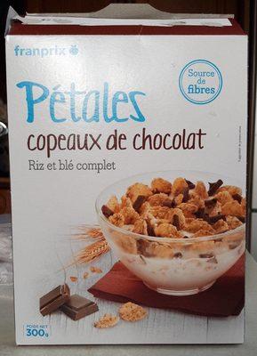 Pétales copeaux de chocolat - Produit - fr
