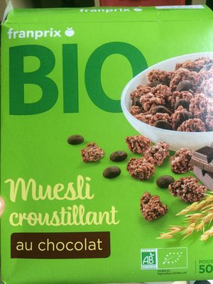 muesli croustillant au chocolat franprix 500 g. Black Bedroom Furniture Sets. Home Design Ideas