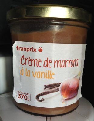 Franprix crème de marrons à la vanille - Product