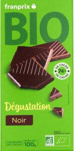 tablette degustation chocolat noir bio - Prodotto - fr