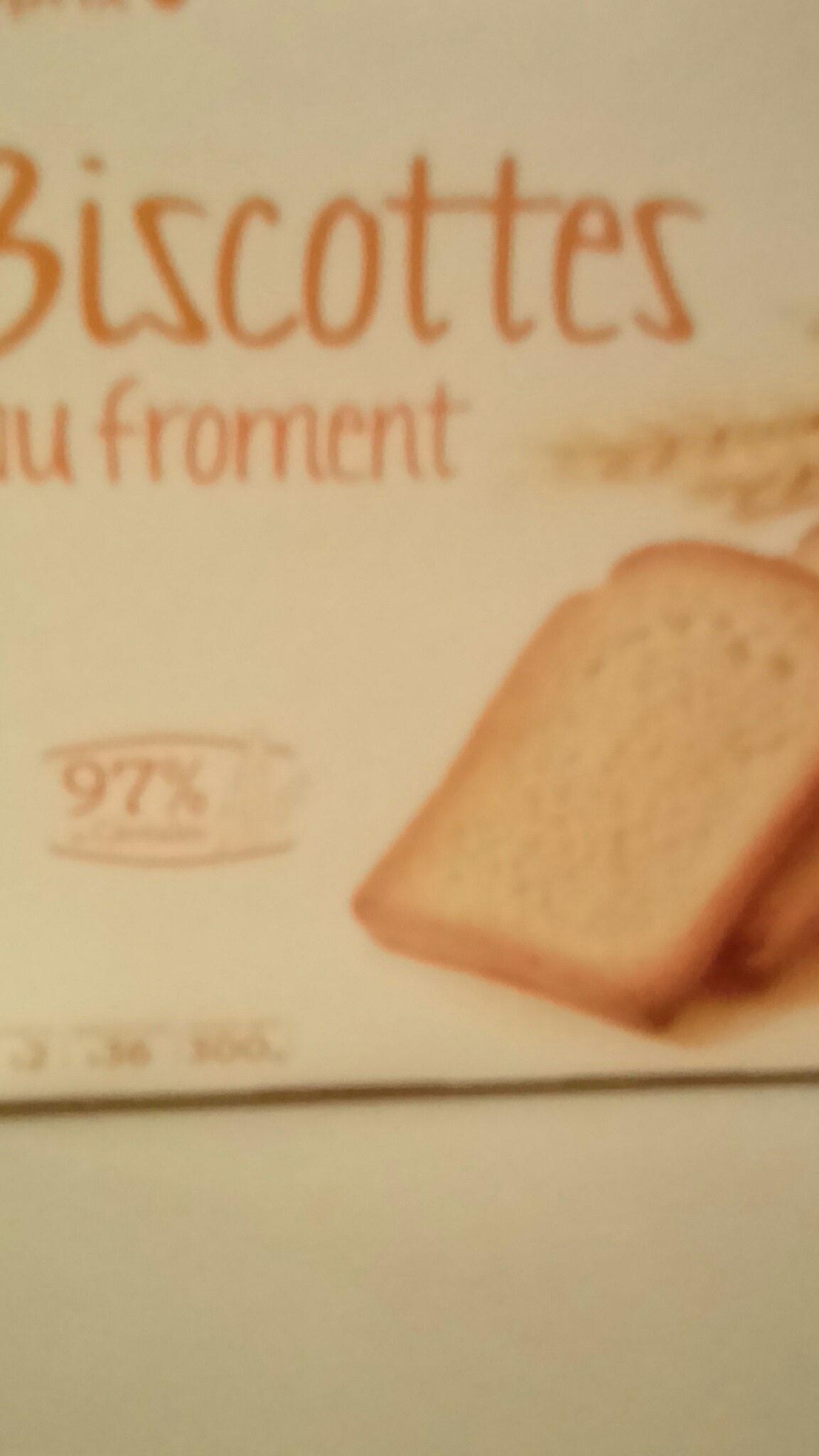Franprix biscottes au froment - Produit - fr