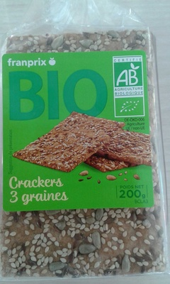 Crackers 3 graines - Product - fr