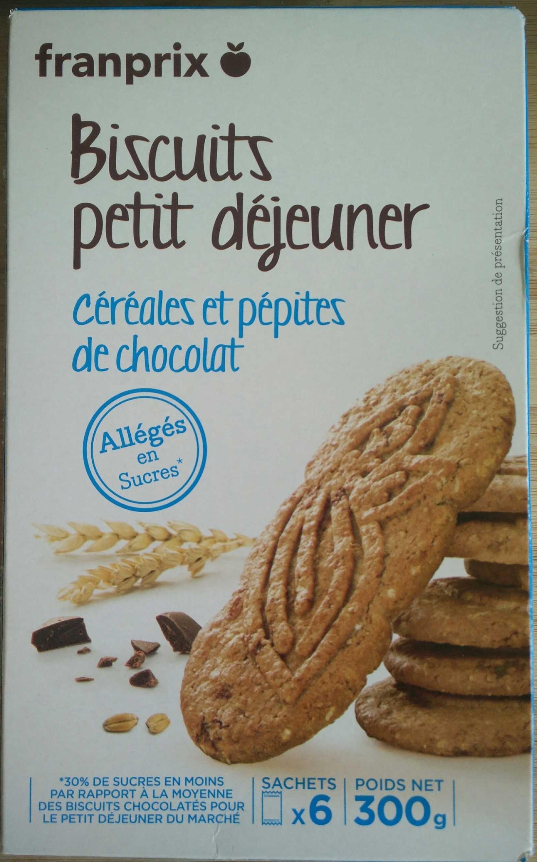 pépites de chocolat allégées