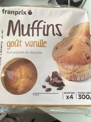 Muffin Goût Vanille - Produit