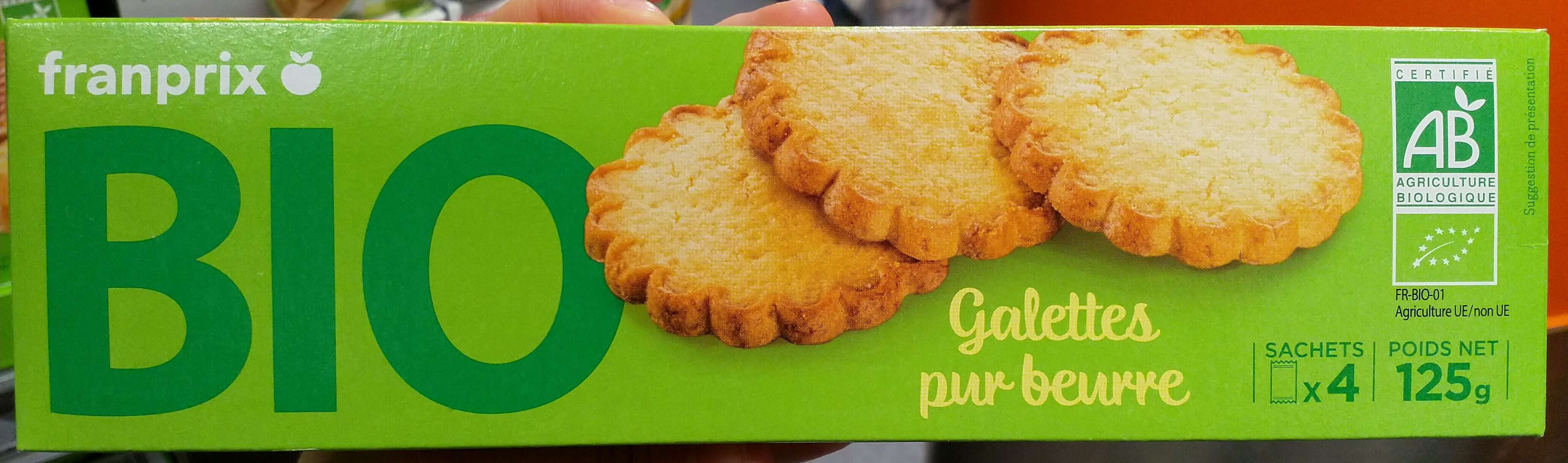 Galettes pur beurre Bio - Product