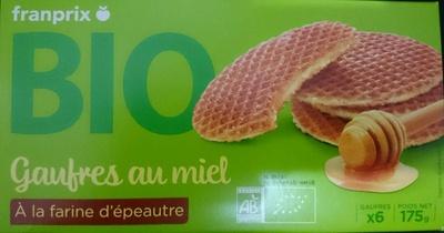 Gaufres au Miel Bio à la Farine d'Épeautre - Prodotto - fr