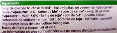 Gaufres au Miel Bio à la Farine d'Épeautre - Ingredienti - fr