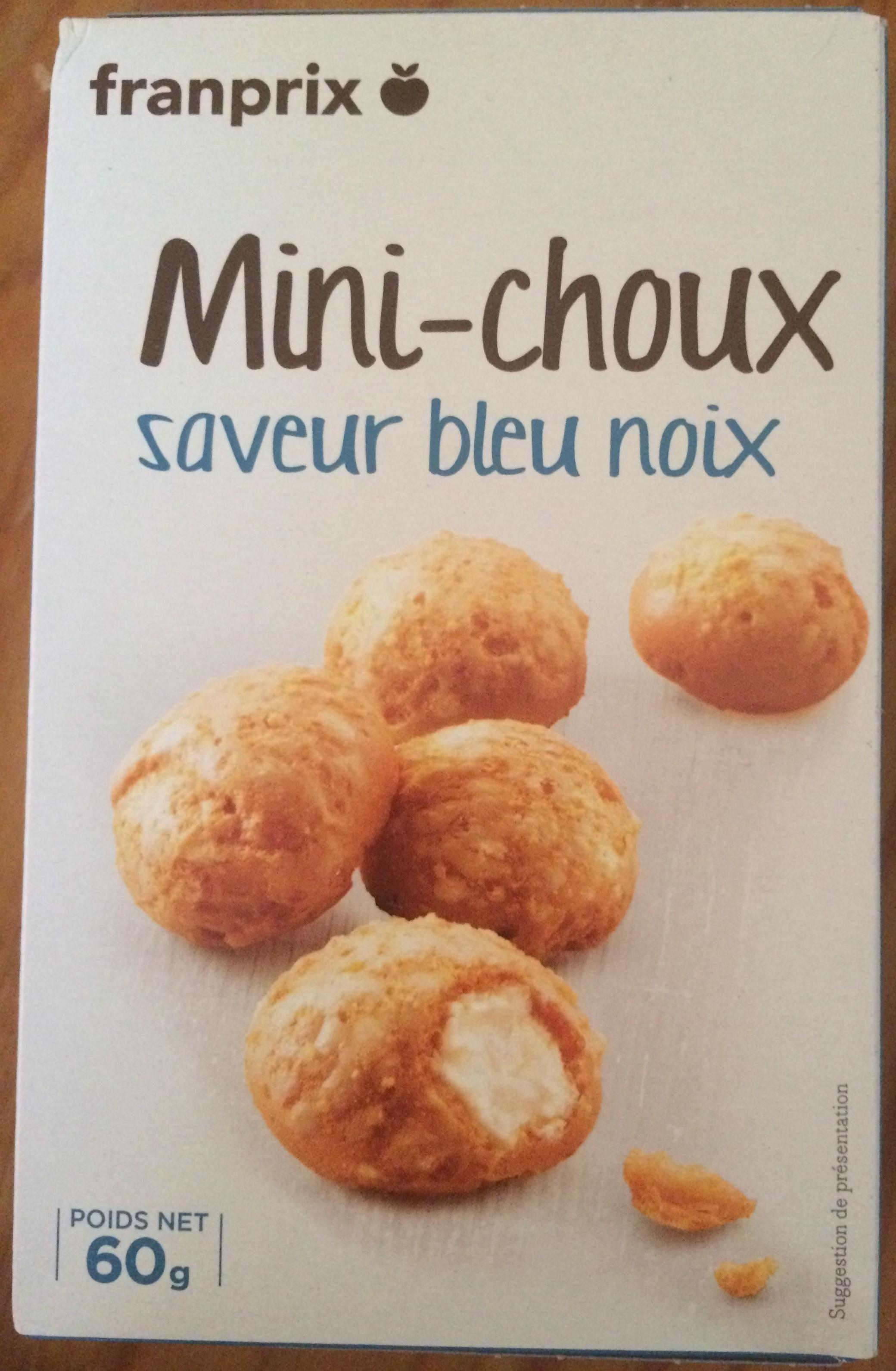 Mini-choux saveur bleu noix - Product