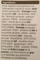 Mini-choux saveur bleu noix - Ingredients
