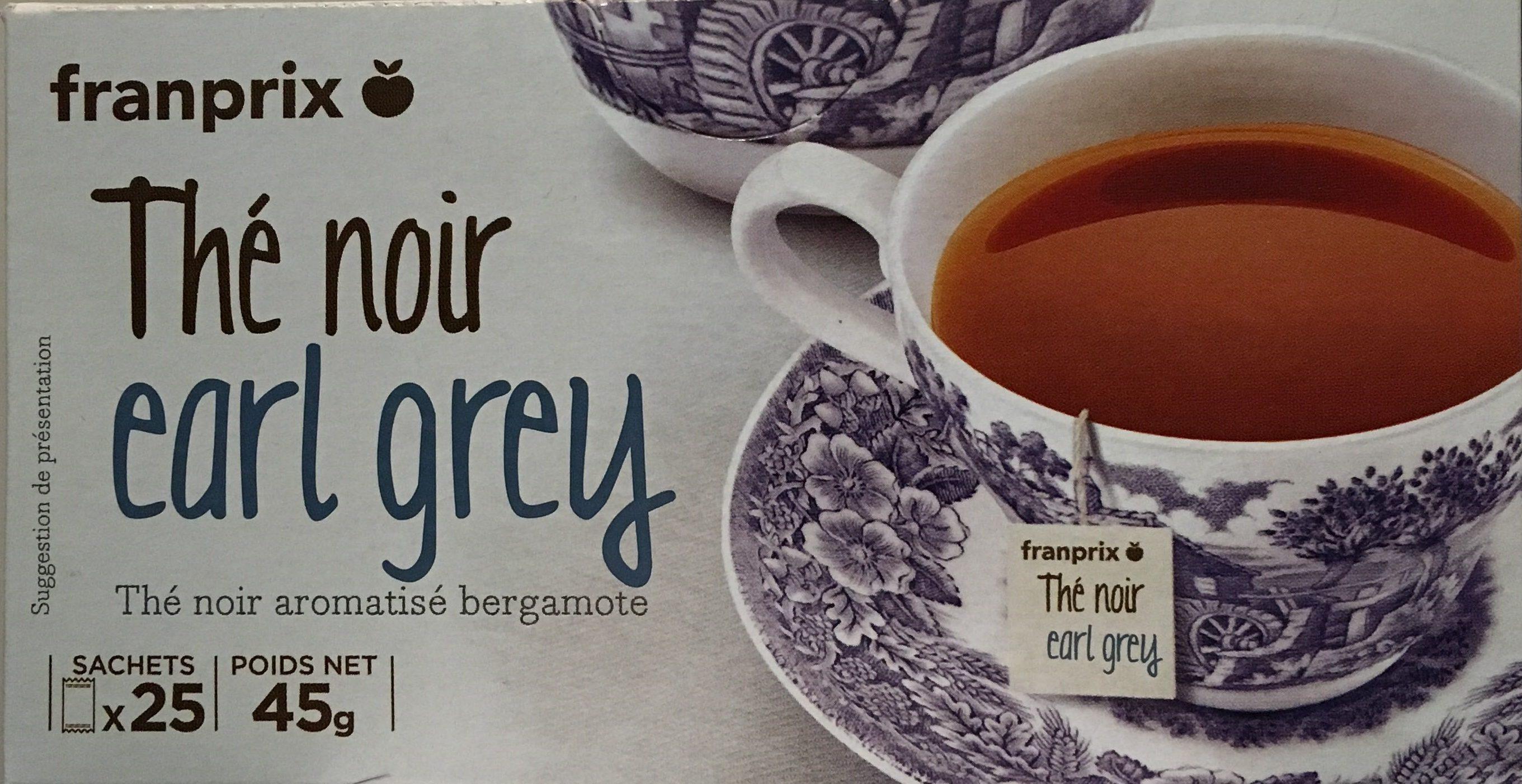 Thé Noir Earl Grey - Produit