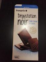 Degustation Noir Faible Teneur En Sucres - Produit - fr
