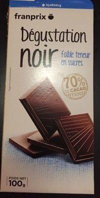 Degustation Noir Faible Teneur En Sucres - Produit