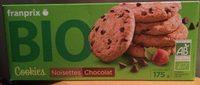 Cookies Noisette Chocolat Bio - Product