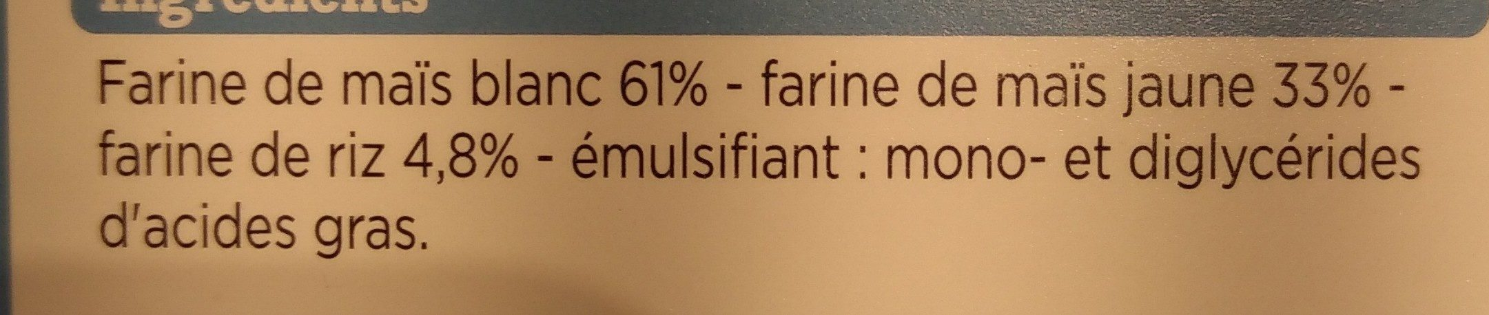 Penne - Ingrédients - fr