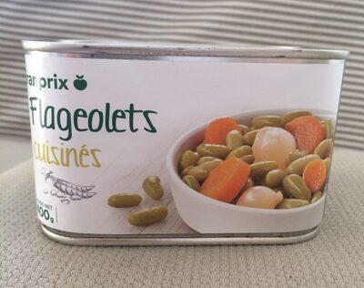 Flageolets cuisinés - Produit