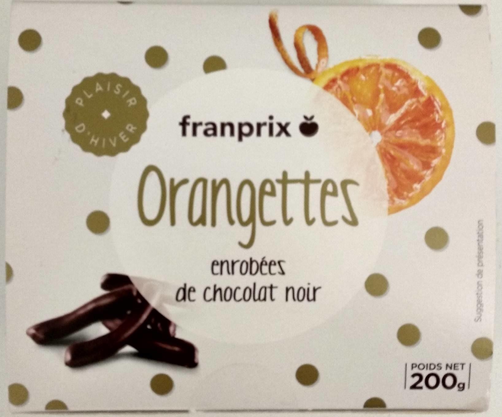 Orangettes enrobées de chocolat noir - Prodotto - fr