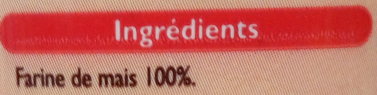 Polenta - Ingredients - fr