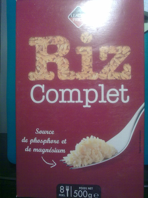 Riz complet - Product - fr